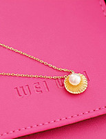 Women's Pendant Necklaces Imitation Pearl Shell Cute Style Fashion Jewelry For Daily Casual