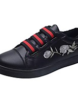 cheap -Men's Shoes PU Spring Fall Comfort Sneakers For Casual Black/Red Gray