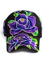 Women's Cotton Sun Hat,Vintage Flower Fall Winter