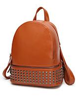 Women Bags PU Backpack Sequins Zipper for Formal Office & Career All Seasons Blue Black Red Brown