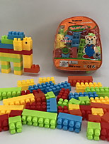 preiswerte -Bausteine Spielzeuge Elefant Tiere Animal Shape Cartoon Shaped Familie Karikatur Spielzeug Cartoon Design Heimwerken 57 Stücke