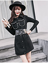 Women's Daily Simple Casual Winter Fall Trench Coat,Solid Stand Sleeveless Long Wool