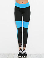 cheap -Women's Running Tights Yoga Fitness Tights Yoga Pilates Exercise & Fitness Elastane Polyster Slim S M L