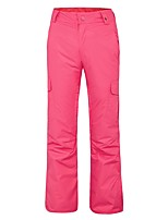 Women's Ski / Snow Pants Waterproof Thermal / Warm Windproof Breathability Hiking Snow sports Polyester