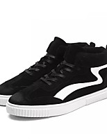 cheap -Men's Shoes Pigskin Spring Fall Light Soles Sneakers For Casual Gray Black
