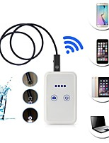 cheap -USB Endoscope With Wifi Box Inspection Snake camera 6 LED 9mm Lens 1.5M Wifi Endoscope for Android IOS