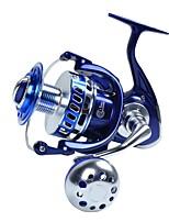 Molinetes de Pesca Molinetes Rotativos Molinete de Isco 4.7:1 13 Rolamentos Trocável Pesca de Mar Rotação Pesca de Gancho Pesca de Água