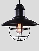 nord europa vintage industria nero metallo ciondolo luci sala da pranzo soggiorno cucina luce