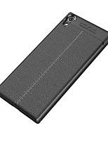 Недорогие -Кейс для Назначение Sony Xperia XA1 Ultra / Xperia XA1 Защита от удара / Матовое Кейс на заднюю панель Однотонный Мягкий ТПУ для Sony Xperia XZ1 / Sony Xperia XZ Premium / Sony Xperia XZ