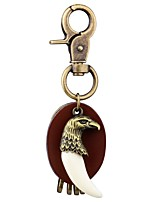 cheap -Keychains Jewelry Leather Alloy Eagle Animals Fashion Going out
