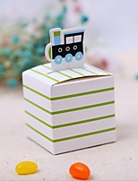 Favor Holder-Cubic Card Paper Favor Boxes