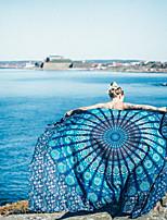 Style frais Drap de plage,Peinture Qualité supérieure Polyester/Coton Serviette