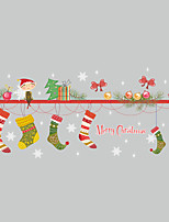 cheap -Christmas Cartoon Wall Stickers Plane Wall Stickers Decorative Wall Stickers,Vinyl Home Decoration Wall Decal For Window Wall