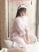 Lingerie en Dentelle Vêtement de nuit Femme Solide-Moyen