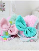 Chien Echarpe pour Chien Vêtements pour Chien Décontracté / Quotidien Nœud papillon Vert Rose Costume Pour les animaux domestiques