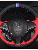 cheap -Automotive Steering Wheel Covers(Leather)For Honda All years General Motors