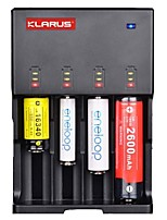 KLARUS C4 Battery Charger High Quality Light and Convenient ABS for Lithium Ion Nickel Metal Hydride Nickel Cadmium
