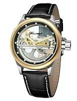 FORSINING Муж. Модные часы Нарядные часы Наручные часы С автоподзаводом Защита от влаги С гравировкой Натуральная кожа Группа Винтаж На