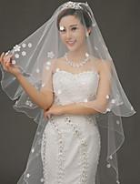 Voile de mariage à un tiers voile voiles accessoires de mariage tulle / dentelle