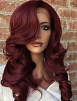 New Ombre T1B/RED 100% Brazilian Human Hair Body Wave Full Lace Wig Human Hair  Natural Hair Full Lace Wigs For Woman With Baby Hair