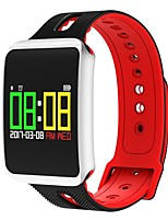cheap -Smart Bracelet Built-in Bluetooth Water Resistant / Water Proof Calories Burned Touch Sensor APP Control Pulse Tracker Pedometer Activity