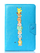 Universal Cartoon Cat PU Leather Stand Cover Case For 7 Inch 8 Inch 9 Inch 10 Inch Tablet PC