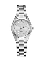 Women's Wrist watch Fashion Watch Quartz Water Resistant / Water Proof Alloy Band Silver