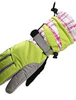 Недорогие -Лыжные перчатки Жен. Полный палец Сохраняет тепло Другие материалы Катание на лыжах Зима
