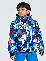 cheap -Boys' Girls' Ski Jacket Warm Ventilation Windproof Wearable water-resistant Ski / Snowboard Multisport Snowshoeing Winter Sports