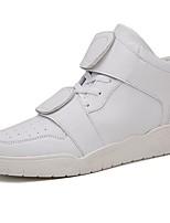 Недорогие -Для мужчин обувь Полиуретан Весна Осень Удобная обувь Кеды Назначение Повседневные Белый Черный Красный