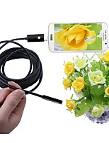 cheap -2 In 1 USB Endoscope 5.5mm Lens IP67 Waterproof Inspection Borescope Camera For Windows Android Snake Cam 5M Cable Black