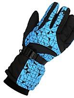 Недорогие -Лыжные перчатки Муж. Жен. Полный палец Сохраняет тепло Другие материалы Катание на лыжах Зима
