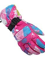 cheap -Ski Gloves Women's Full-finger Gloves Keep Warm Waterproof Windproof Breathable Fiber Cycling / Bike Snow sports Winter