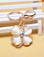 cheap -Floral Theme Keychain Favors Rhinestone Chrome Keychain-Piece/Set