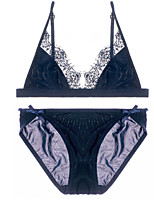 abordables -Lingerie en Dentelle Costumes Vêtement de nuit Femme Solide-Fin Spandex