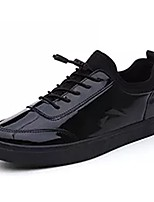 cheap -Men's Shoes Leather Winter Comfort Sneakers For Casual Black