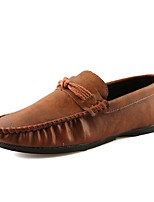 Men's Shoes Rubber Winter Moccasin Loafers & Slip-Ons For Outdoor Blue Brown Gray Black
