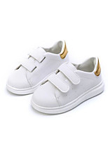 cheap -Boys' Shoes PU Spring Fall Comfort Sneakers For Casual Pink Green Black Gold