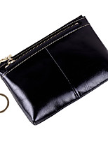 cheap -Women Bags Cowhide Coin Purse Zipper for Event/Party Office & Career All Season Purple Fuchsia Coffee Camel Royal Blue