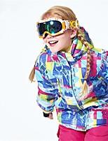 Boys' Girls' Ski Jacket Warm Ventilation Windproof Wearable water-resistant Ski / Snowboard Multisport Snowshoeing Winter Sports