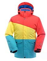 Men's Ski Jacket Warm Waterproof Windproof Antistatic Snow Walking Outdoor Exercise Ski/Snowboarding Polyester Taffeta