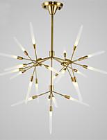Northern Europe Post Modern Chandelier 25 Head Acrylic Pendant Lights Living Room G4 Bulb Base