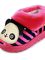 cheap -Girls' Shoes Fleece Fall Winter Comfort Slippers & Flip-Flops For Casual Pink Red