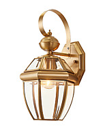 Ambient Light Wall Sconces 40W AC220V E14 Rustic/Lodge Country For