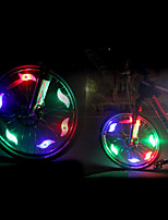 Safety Lights LED LED Cycling Gleam CR2032 200 Lumens CR2032 Battery Colorful Red Blue Green Cycling/Bike