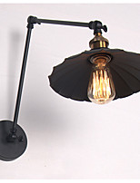 настенный светильник Потолочный светильник 40W 220 Вольт E27 Деревенский стиль Модерн Античная бронза
