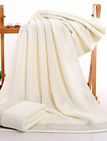 Style frais Serviette de bain,Solide Qualité supérieure Pur Coton Etoffe jacquard Serviette