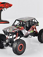 Carro com CR P1001 Rock Climbing Car Alta Velocidade 4WD Drift Car Carroça SUV Monster Truck Bigfoot Carro de Corrida 1:10 * KM / H