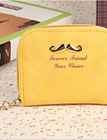 cheap -Women Bags PU Coin Purse Zipper for Casual Office & Career All Season Blushing Pink Yellow Brown Sky Blue
