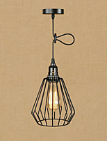 Retro/Vintage Lantern Traditional/Classic Pendant Light For Living Room Dining Room Shops/Cafes AC 110-120 AC 220-240V Bulb Not Included